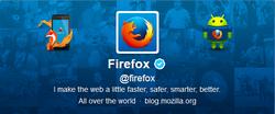 Firefox (firefox) sur Twitter