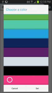 "input type=""color"" dans Fennec Nightly"