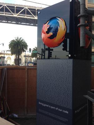 Monument Mozilla Firefox de San Francisco