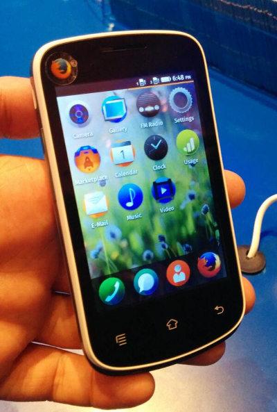 Un smartphone Firefox OS à 25 $ !