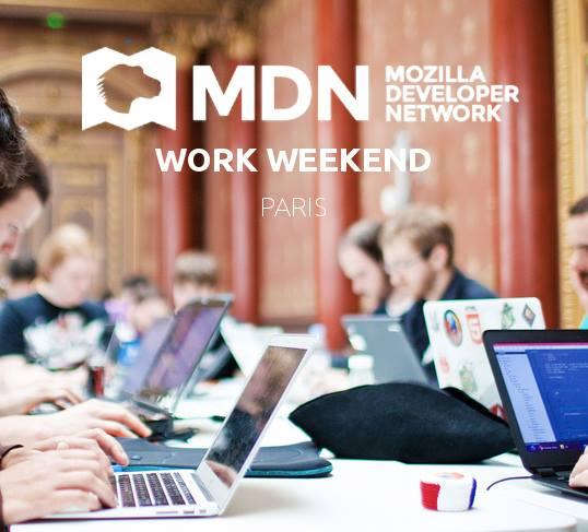 MDN work weekend Paris