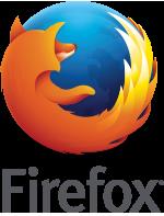 logo Firefox©, nom en bas