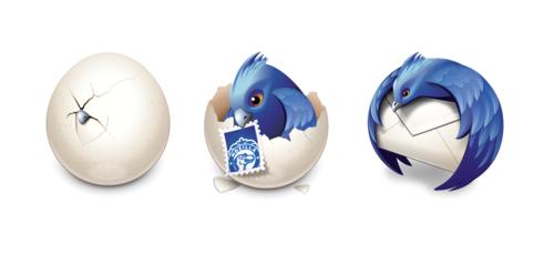 Logos de Thunderbird