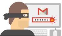 """Illustration de la page """"Sécurité"""" d'un compte Google"""