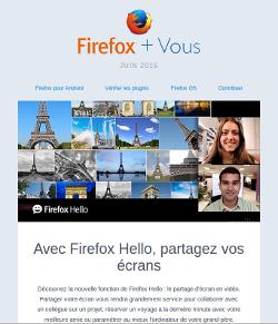 Firefox et Vous juin 2015